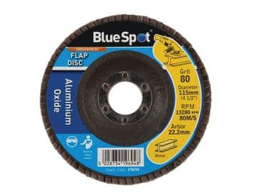 Sanding Flap Disc 115mm 80 Grit